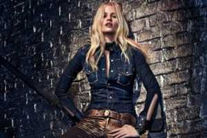 The Calvin Klein Fall 2012 Jean Line Features Steamy Lara Stone