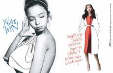 IMG Women Spring 2013 Creates Artistic Model Calling Cards