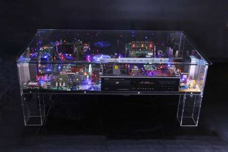 Electri-City Table