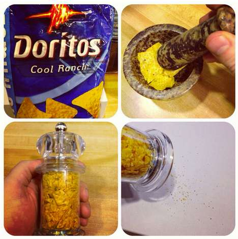 DIY Doritos Shaker