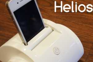 The Helios iOS Device Turns Your Cellular Device into a Robot