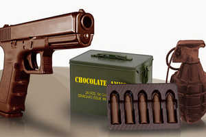 These Chocolate Guns Can Help You Melt Away Your Sorrows