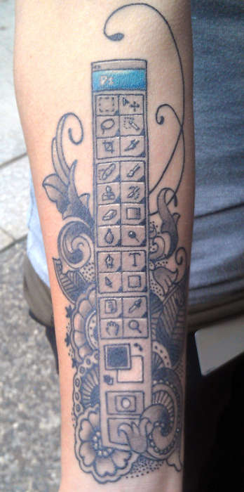 photoshop toolbar tattoo