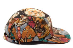 The Moupia Autumn/Winter 2012 is an Abstract Collection of Designer Hats