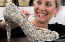 Cinderella-Inspired Footwear