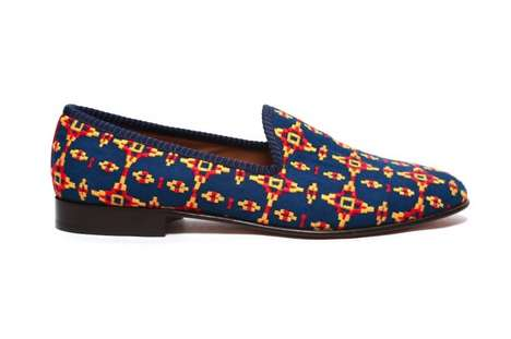 Snug Aztec Slip-Ons - The Del Toro Tribal Shoe Collection Doesn't Sacrifice Style for Comfort