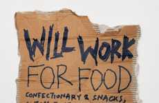 Cardboard Beggar Ads