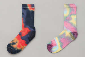 Anonymous Ism Tie-Dye Socks Aae Made in America