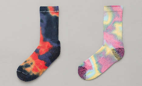 Anonymous Ism Tie-Dye Socks
