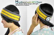 Protective Cozy Musical Headgear - Headbands with MP3 Keep Ears Snuggly While Fighting Winter Chills