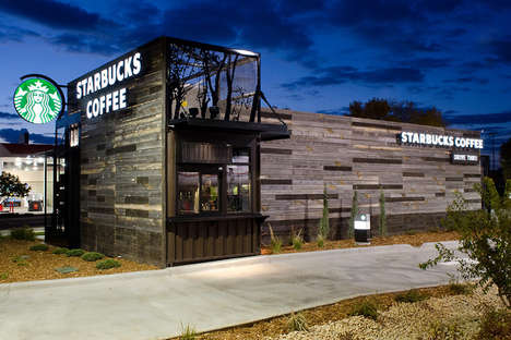 LEED-Certified Coffee Huts - The Starbucks Colorado is Smaller & More Portable for World Domination