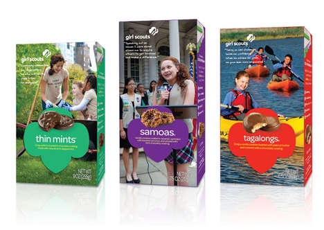 Redesigned Girl Scout Cookies