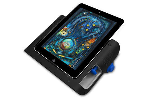 iPad Pinball Game Console