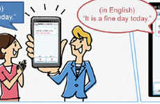 Live Translation Applications - Japan's New Multilingual Translating App Works Instantaneously