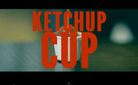 how to use a ketchup cup