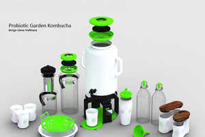 The Probiotic Garden Kombucha Fully Equips You for Tea Preparation