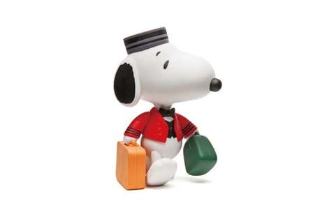 Iconic Comic-Branded Merchandise - Peanuts-Themed Products Bring Snoopy to Everyday Life