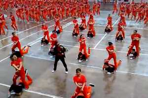 The Inmates Dancing Gangnam Style Sure Can Bust a Move