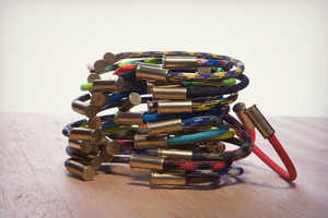BRZN Bullet Casing Bracelets Give Your Image an Edge