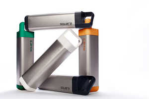 The Square Water Bottle is a Stylish Replacement to Bulky Canisters