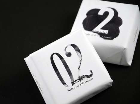 Numerial Boutique Bathroom Packaging