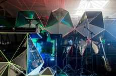 Fragmented Stage Projections