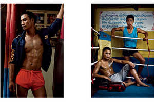 The VMAN Blood Sport Editorial Shows the Fashions of a Deadly Game