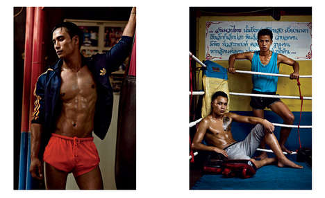 VMAN Blood Sport Editorial