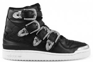 The Js Forum Hi Sneakers Fuse Western and Urban Styles