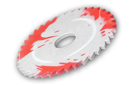 Bloody Sawblade Throwing Disc