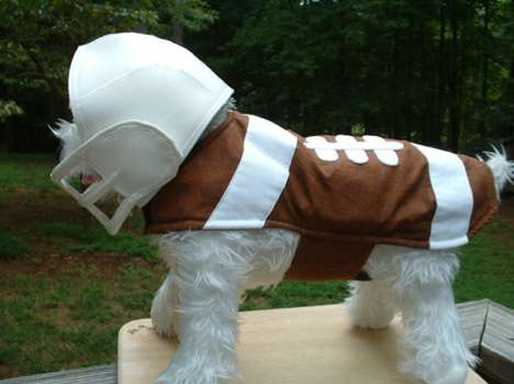 This Football Dog Costume Will Get Everyone in the Mood for the Holidays