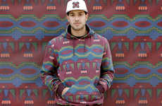 Southwestern Hipster Photoshoots - The 10.Deep Fall Line Features Bold Patterning and Fresh Col