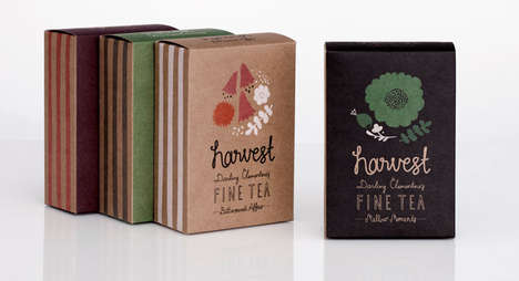 Harvest Fine Tea Packaging