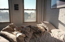 Disheveled Bedroom Photography