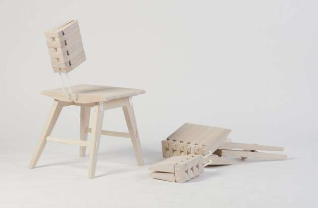 Collapsible Wooden Seats