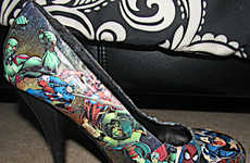 Fierce Superhero Stilettos