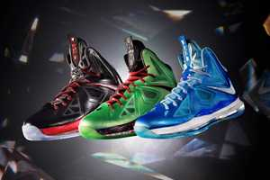 The LEBRON X Gets Upgraded with New Colorways