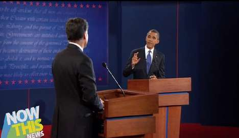 Whole Presidential Debate in 121 Seconds