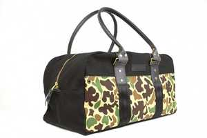 The Wheelmen & Co. Scout Series Bag Uses Resurfaced HBT Camouflage