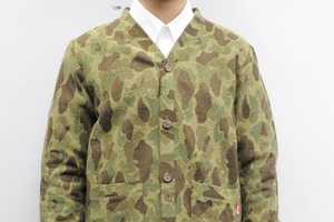 The KIKS TYO Camo Cardigan Enhances the Army Look