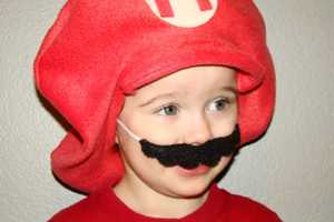 Grab a Mario Felt Hat and Mustache to Complete Your Halloween Costume