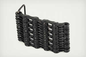 The Bike Chain Belt Buckles are a Groovy UpCycled Pant Accessory