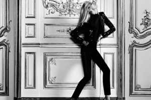 The Anja Rubik for YSL Website Images are Sensually Stunning