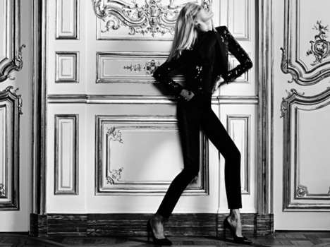 Anja Rubik for YSL Website