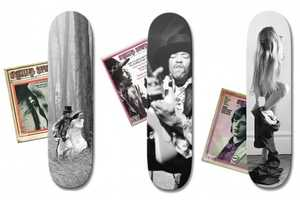 These Rolling Stone Skateboards are Shot by Baron Wolman