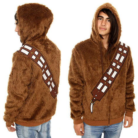 62 Star Wars Halloween Fashions - From Sultry Sci-Fi Lingerie to Cozy Sci-Fi Knitwear