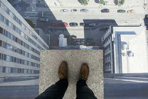 The Skrapan 3D Street Art Easily Conquers Your Fear of Heights