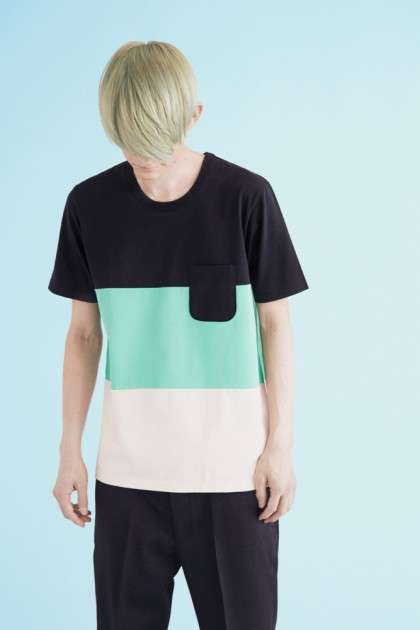 Unisex Color-Blocked Tees - The Aloye Fall/Winter Collection Can Be Worn By Boys and Girls