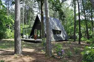 The dmvA A-Framed House is Like Camping in Comfort