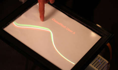 Capacitive Fingerprinting by Disney Research